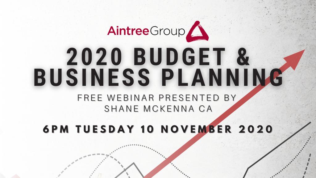 Budget & Business Planning Webinar